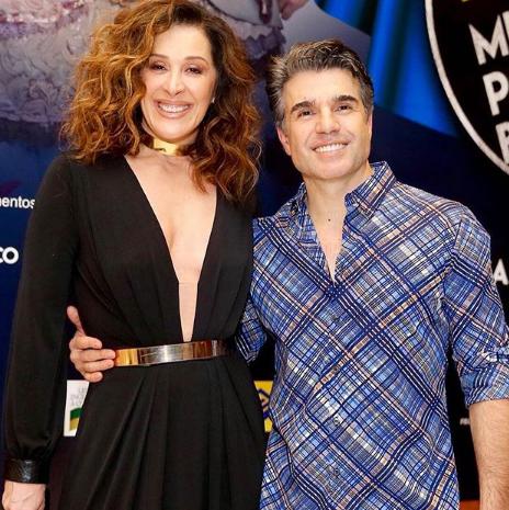 Claudia Raia com o marido, Jarbas Homem de Mello (Foto: Reprodução Instagram)