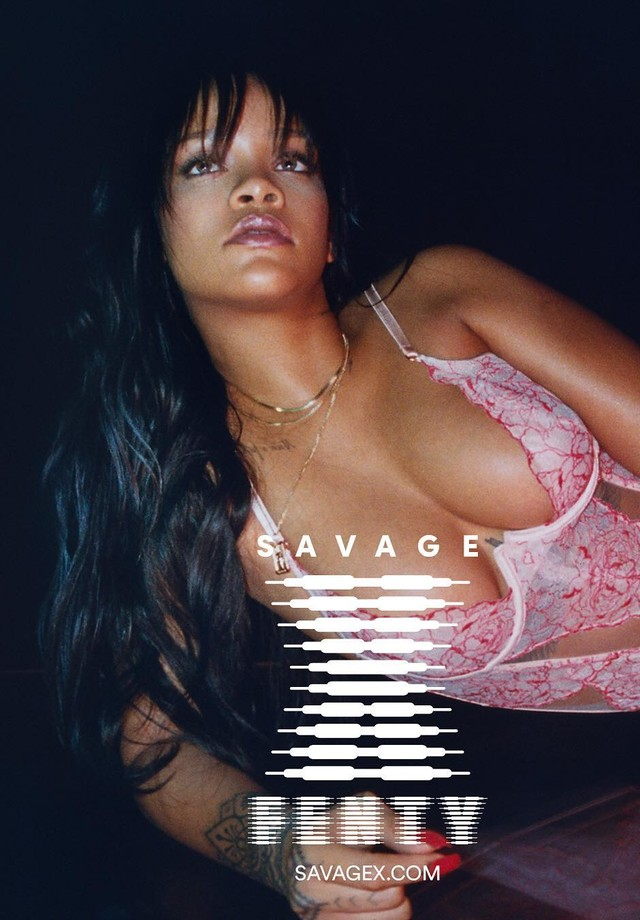 First look: Rihanna revela preview da sua coleção de lingeries (Foto: Reprodução/Instagram)