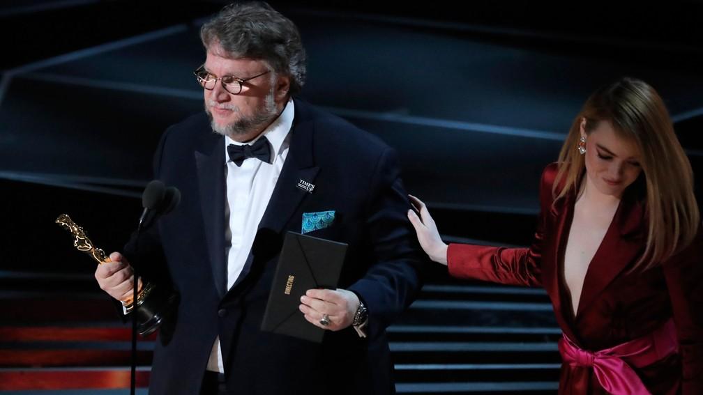 Guillermo del Toro confirma favoritismo e leva Oscar de Melhor Diretor por 'A forma da água' (Foto: Lucas Jackson/Reuters)