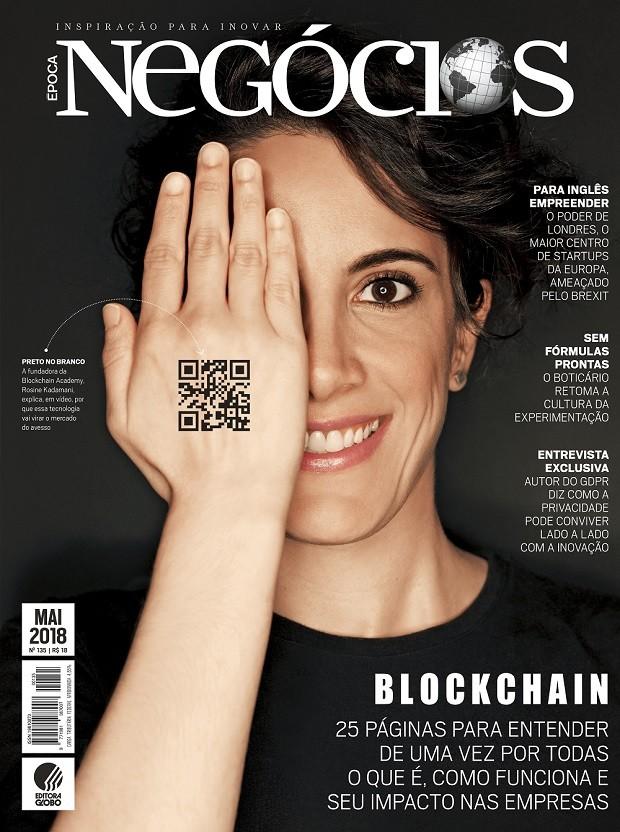 Edição de Época NEGÓCIOS de maio de 2018 (Foto: Época NEGÓCIOS)
