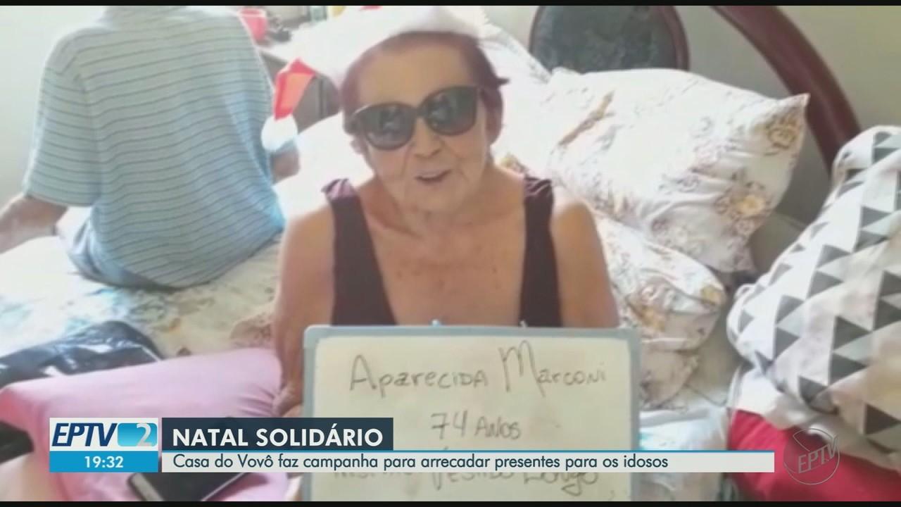 Casa do Vovô faz campanha para arrecadar presentes para os idosos em Ribeirão Preto
