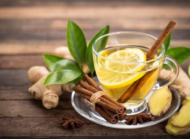 Chá de gengibre (Foto: Thinkstock)