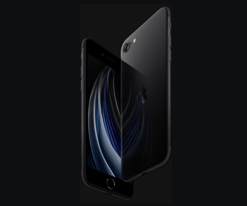 iPhone SE 2020 revive aparência do iPhone 8 — Foto: Divulgação/Apple