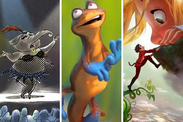 Artes de Wild Life, Newt e Giantic, animações que nunca foram lançadas pela Disney (Foto: Reprodução)