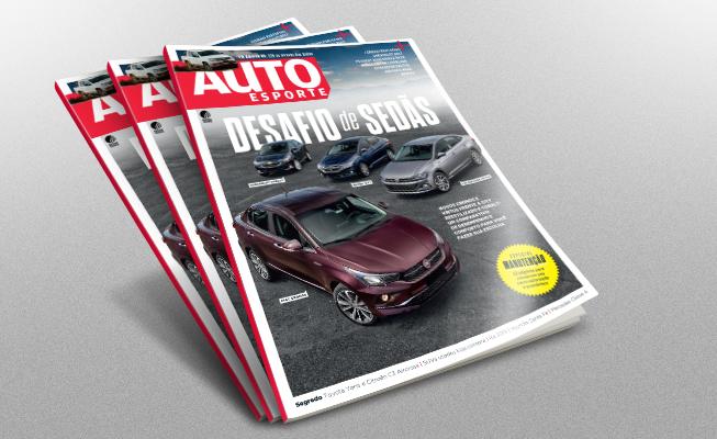 Revista Autoesporte - Edição de março (Foto: Autoesporte)