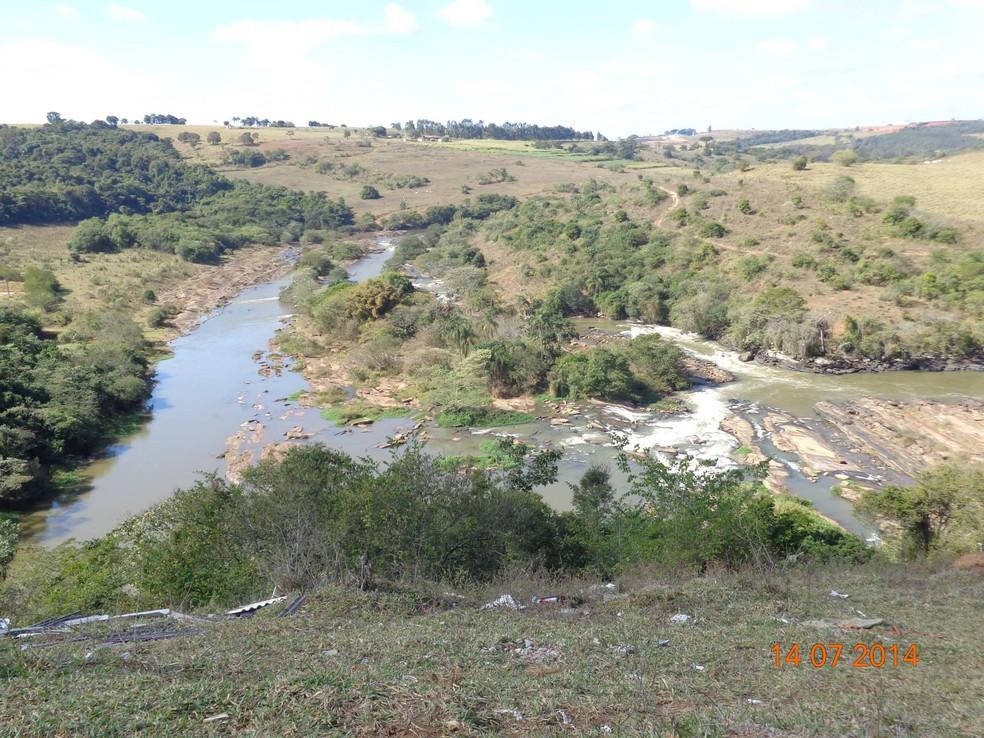 Foto da região conhecida como Caixão do Rio Verde, em Varginha (MG). (Foto: Arquivo Pessoal/Ender de Oliveira)