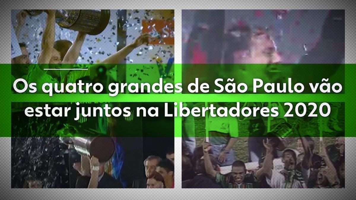 São Paulo Terá Os Quatro Grandes Juntos Na Libertadores Pela Primeira Vez