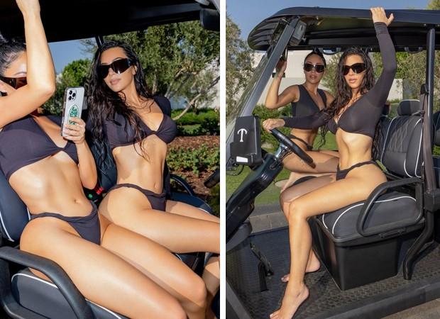 Kim Kardashian e Stephanie Shepherd  (Foto: Divulgação)