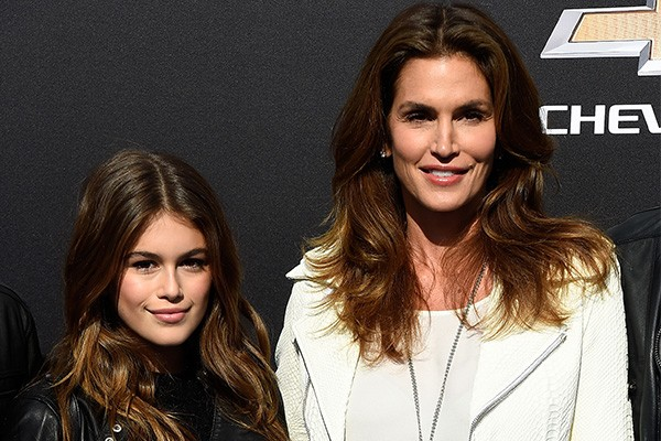 Kaia Gerber e Cindy Crawford (Foto: Getty Images)
