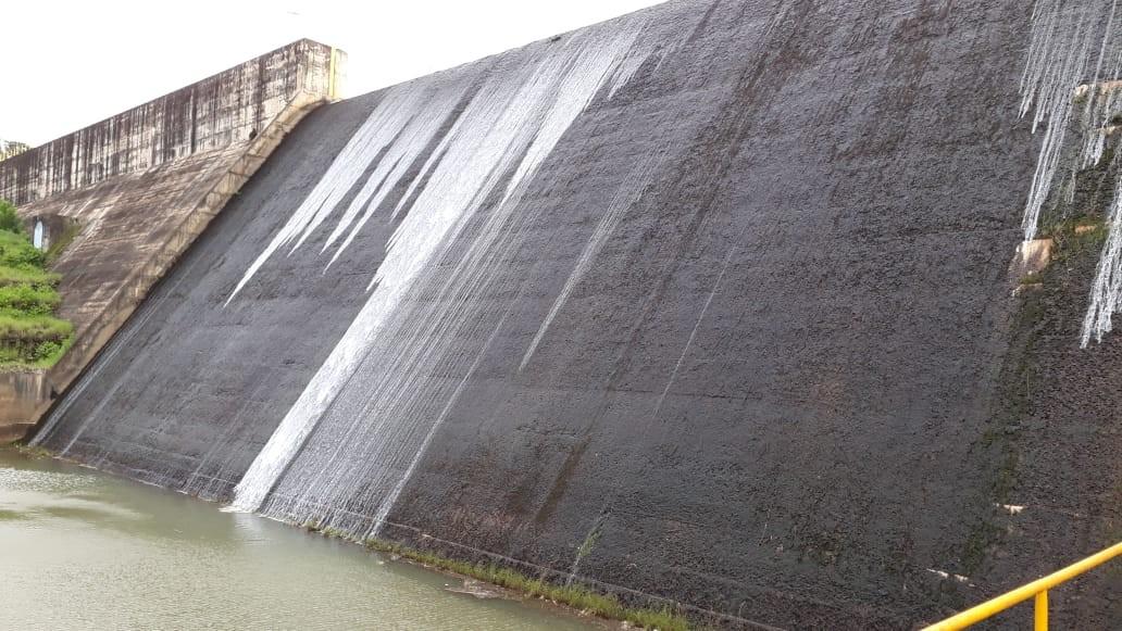 Última vez em que reservatório atingiu capacidade máxima foi em março de  2016  veja o que vai acontecer com a água. Barragem do Descoberto 06cb1a3a44