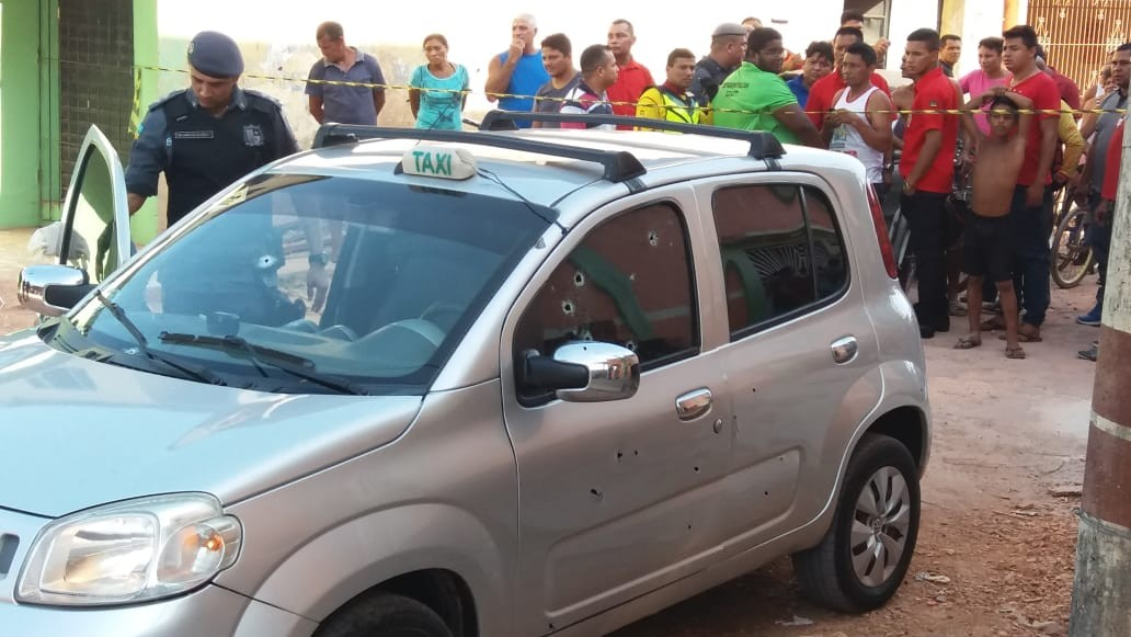 Motorista de táxi alvo de quase 40 tiros no AP foi morto por engano, diz polícia - Radio Evangelho Gospel