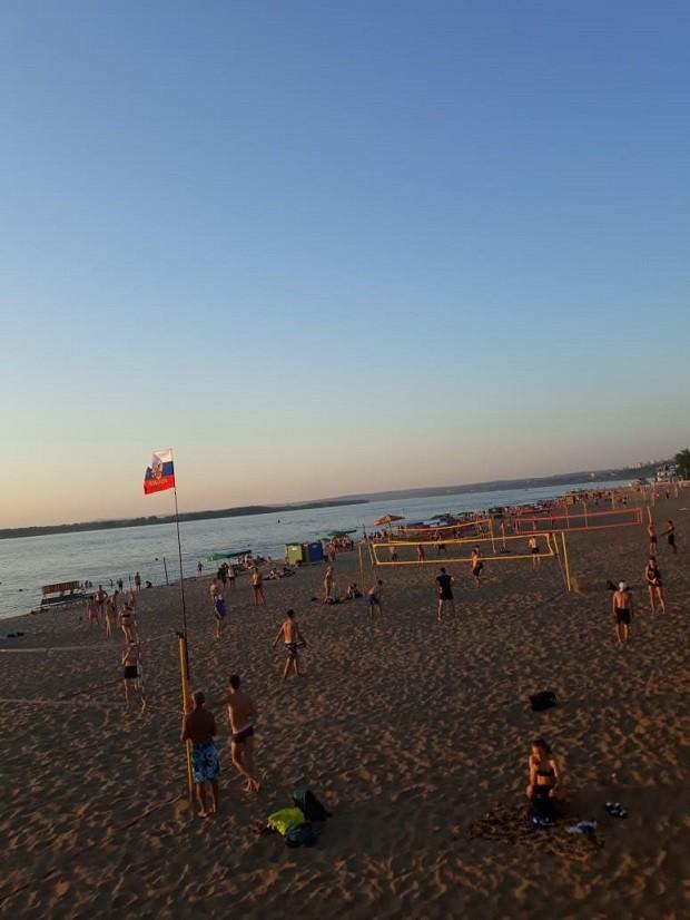 Praia em Samara (Foto: Pedro Carvalho)