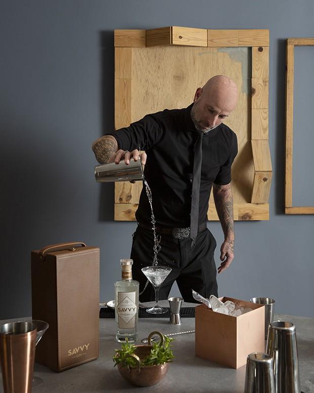 Especialista ensina receita de gin com manjericão (Foto: Andre Klotz)