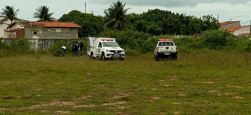 Corpo em estado de decomposição é encontrado em escola de Natal (Foto: Reprodução/Inter TV Cabugi )