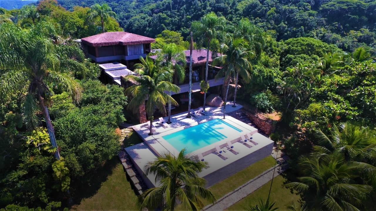 Bruno Gagliasso e Giovanna Ewbank curtem ilha particular com diárias de R$ 35 mil (Foto: Divulgação)