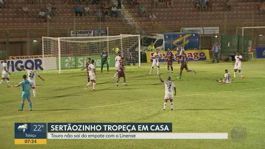 Sertãozinho e Linense encerram noite da A2 com empate sem gols