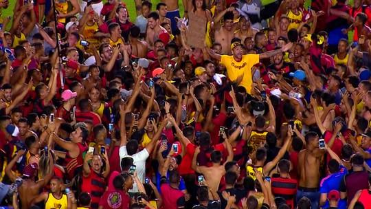 Acesso do Sport em um minuto: veja clipe especial da vitória sobre a Ponte Preta