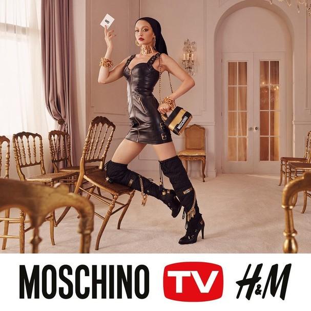Moschino e H&M (Foto: Instagram/Reprodução)