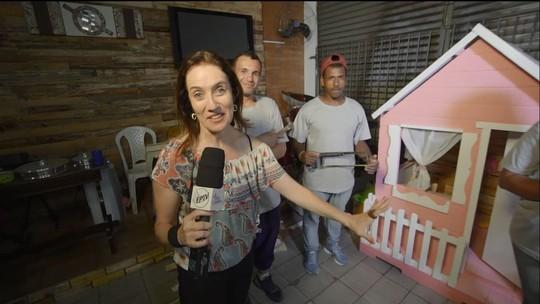 Projeto de Campinas (SP) ensina marcenaria para moradores de rua