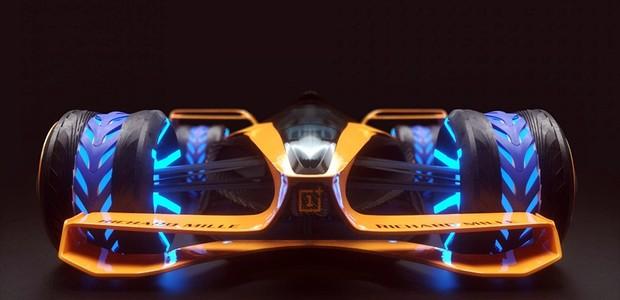 McLaren imagina a Fórmula 1 em 2050 (Foto: Divulgação)