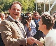 """Sandra Annenberg e Ernesto Paglia celebram 25 anos de casados: """"Continua firme e forte"""""""
