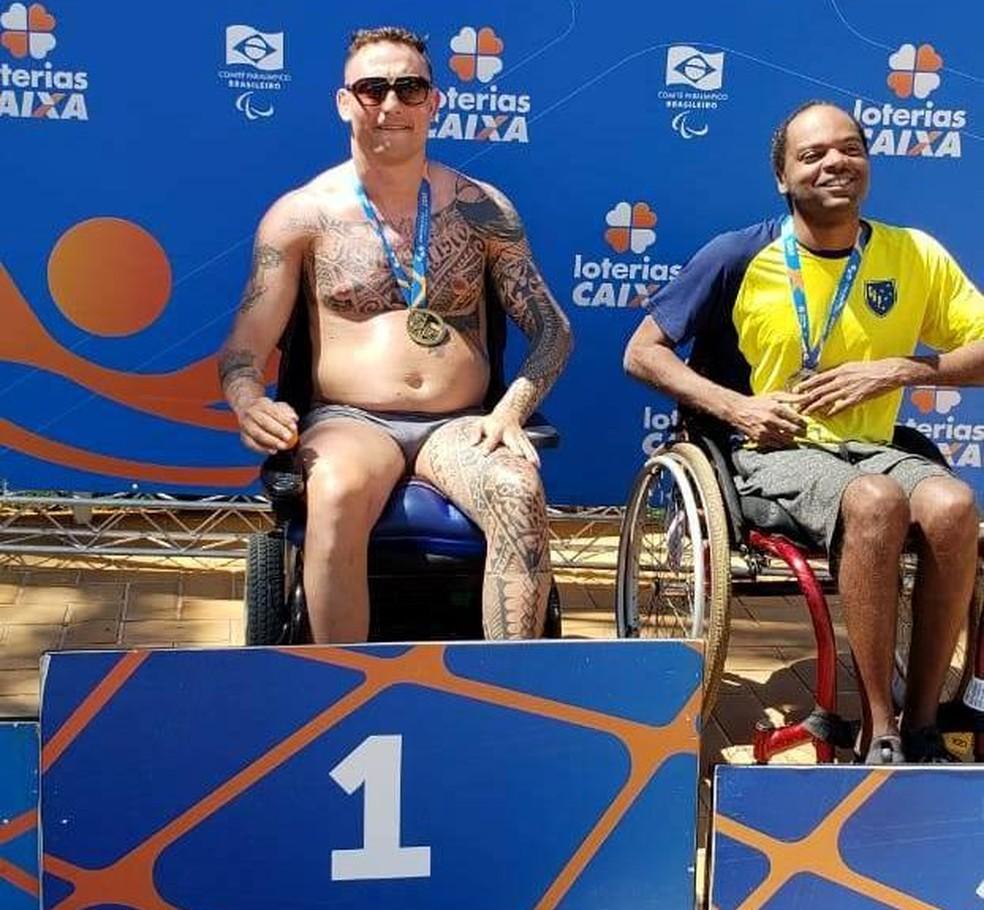 Ludy Goulart desperta interesse do circuito paralímpico — Foto: Arquivo pessoal/Ludy Goulart