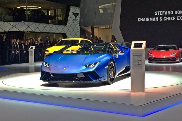 Lamborghini Huracán Performante Spyder 2019 (Foto: Guilherme B. Muniz/Autoesporte)