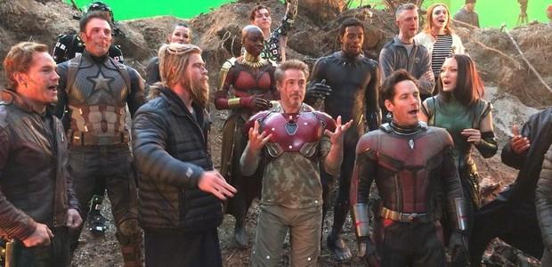 Elenco de Vingadores: Ultimato celebra 11 anos do Homem de Ferro (Foto: Reprodução Instagram)