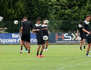 Jadson ex-botafogo udinese treino (Foto: Reprodução / Site Oficial do Udinese)