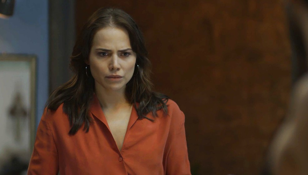Será que ela abre o bico? — Foto: TV Globo