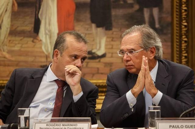 Paulo Guedes e Rogério Marinho se reúnem para se acertar, mas... | Lauro  Jardim - O Globo