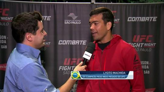 Pesagem do UFC São Paulo: Lyoto Machida diz que primeira luta é a encarada entre atletas