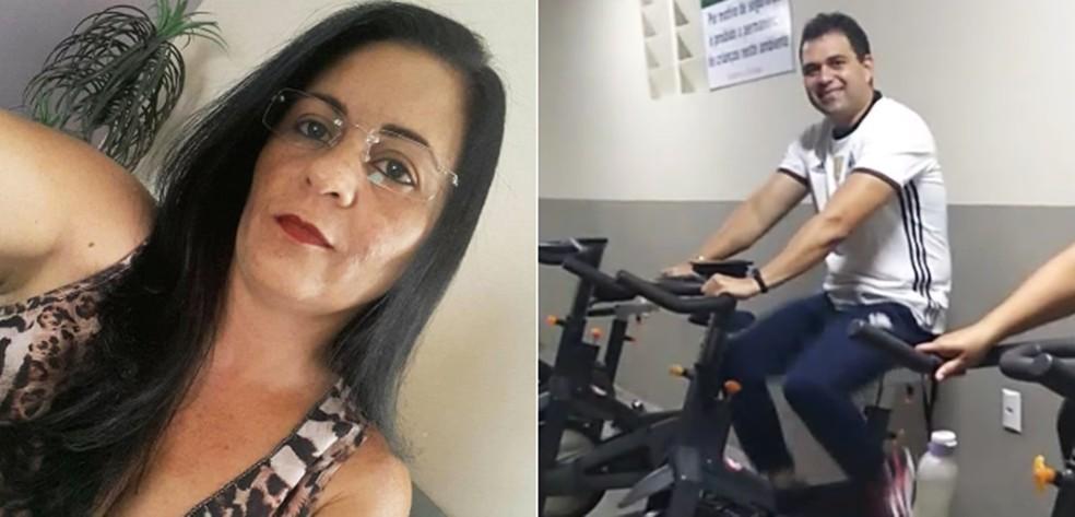 Oleciandra da Silva Dantas, de 41 anos, e Cícero Edvaldo Nogueira de Carvalho, de 40 — Foto: Arquivo Pessoal