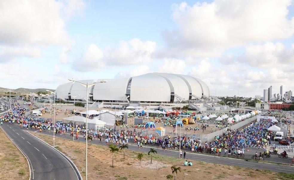 Meia Maratona do Sol será realizada no dia 11 de novembro, com largada na Arena das Dunas (Foto: Elias Medeiros)