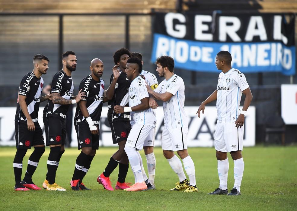 Vasco x Grêmio — Foto: André Durão
