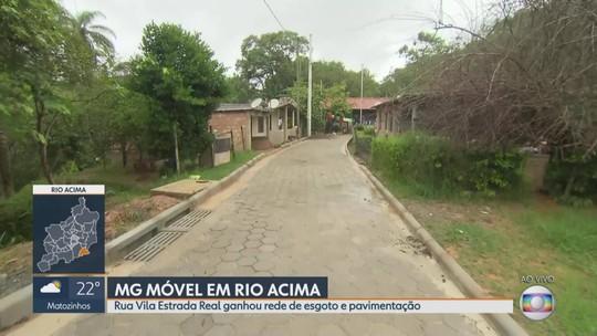 MG Móvel acompanha mudanças no bairro Cortesia, em Rio Acima