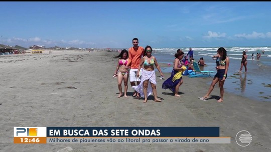 Movimento aumenta no Litoral do Piauí para passagem de ano