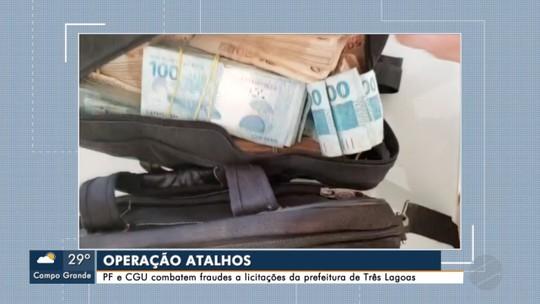 PF faz operação contra fraudes e licitações na prefeitura de Três Lagoas