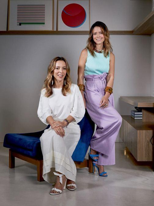 Karina Sterenberg e Natasha Novis (Foto: Pedro Loreto/Vogue Brasil)