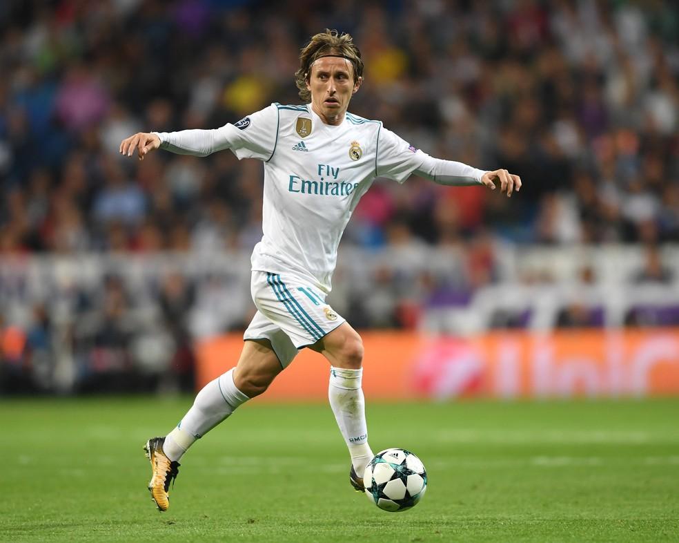 Modric em ação pelo Real Madrid (Foto: Getty Images)