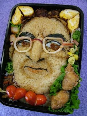 Rosto do executivo figurou até em marmitas japonesas (Foto: Divulgação via BBC News Brasil)
