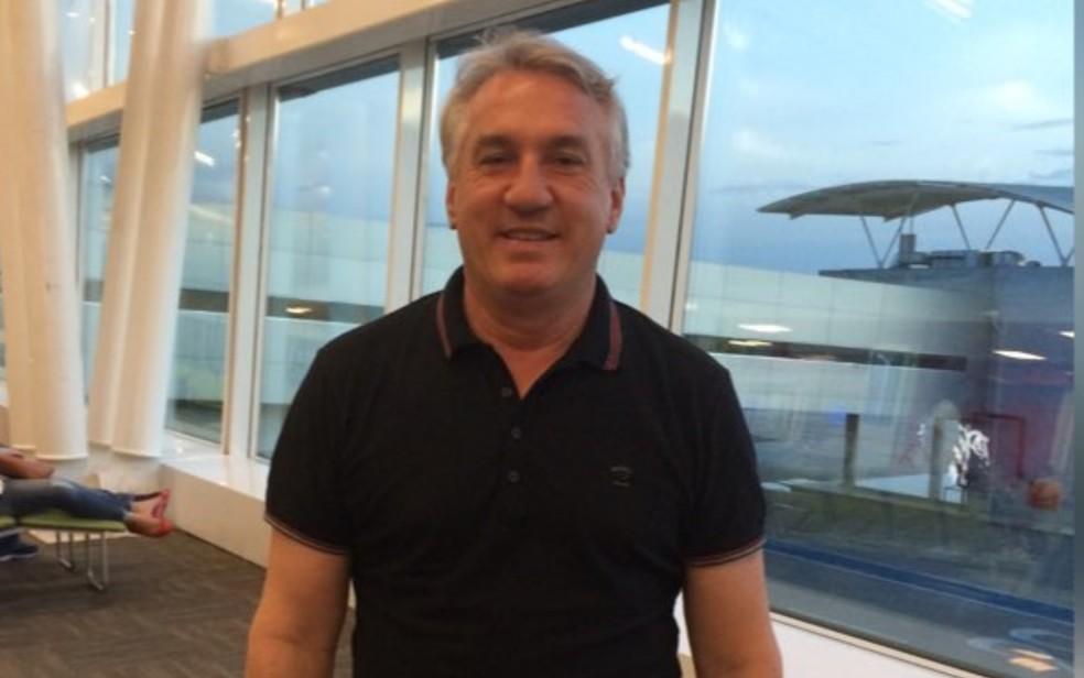 Empresário Osvaldo Antônio Zilli veio com empresa de Santa Catarina para atuar em Aparecida de Goiânia há 18 anos — Foto: Reprodução/Arquivo Pessoal