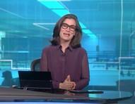 Renata Vasconcellos se emociona com matéria sobre Covid no 'Jornal Nacional'