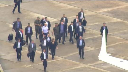 Bolsonaro já está no Palácio da Alvorada, após 17 dias internado em São Paulo