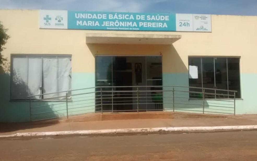 Hospital de Santo Antônio da Barra — Foto: Reprodução/TV Anhanguera