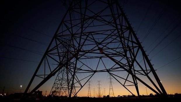 Linhas de transmissão de energia - energia - distribuidora - linha - setor energético (Foto: Ueslei Marcelino/Reuters)
