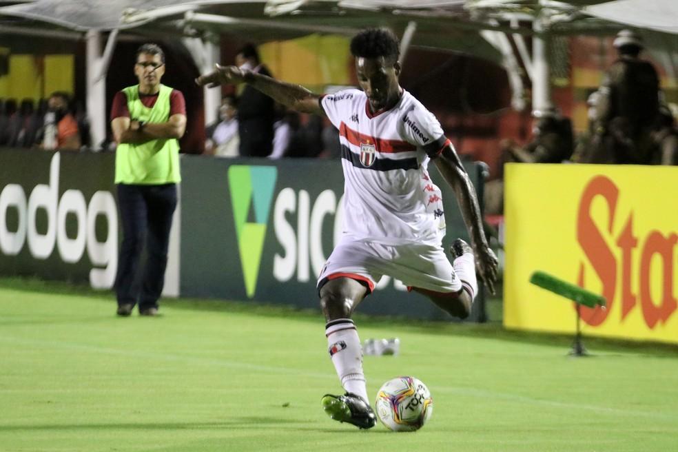 Guilherme Romão defendeu o Botafogo-SP na temporada 2020 — Foto: José Bazzo/Agência Botafogo