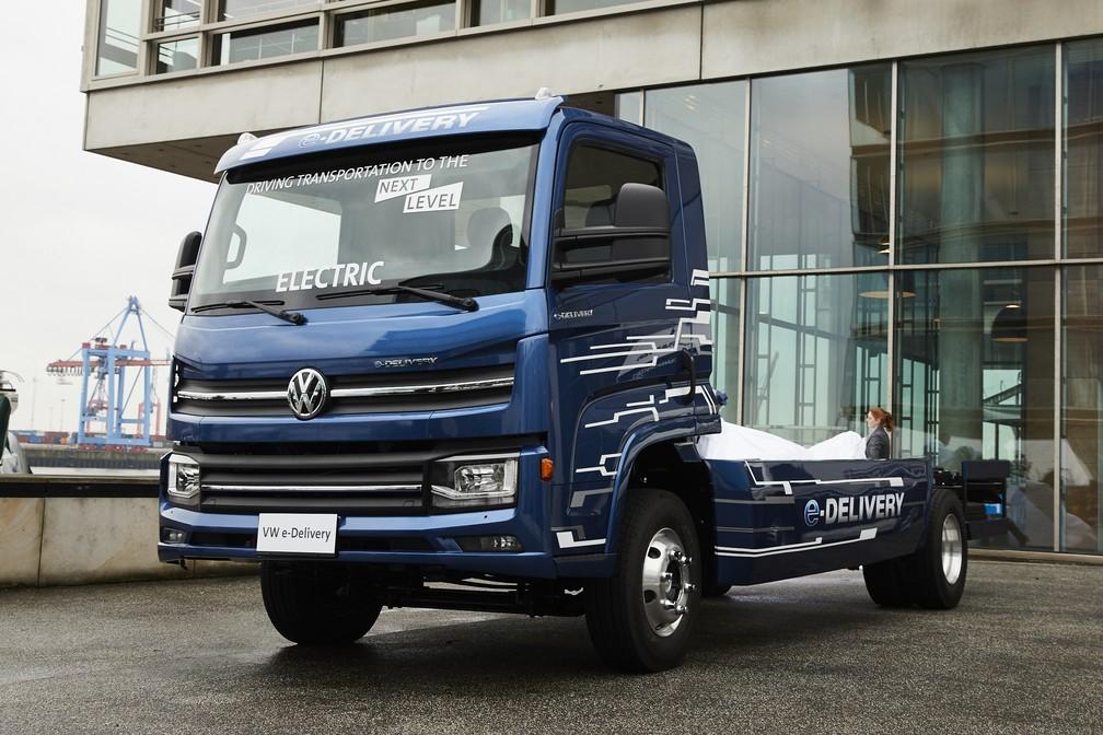 MAN apresentou na Alemanha caminhão elétrico desenvolvido no Brasil (Foto: Divulgação)