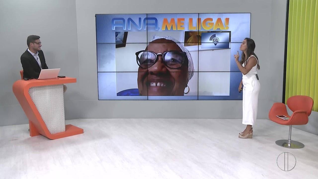 'Ana, me liga!': Ana Paula Mendes surpreende telespectadora aniversariante do dia