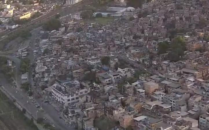 Moradores da região da Mangueira acordam ao som de tiroteio
